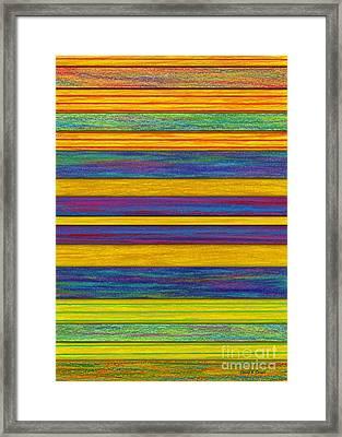 Lemon Berry Bars Framed Print by David K Small