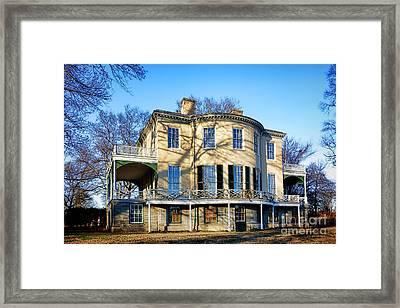 Lemon Hill Mansion Framed Print by Olivier Le Queinec