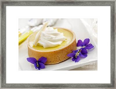 Lemon Tart  Framed Print