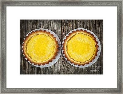 Lemon Tarts Framed Print