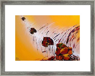 Lemon Tonic Framed Print by Thierry Vobmann