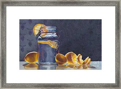 Lemonade Framed Print by Arlene Steinberg