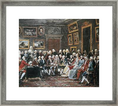 Lemonnier, Anicet Charles Gabriel Framed Print