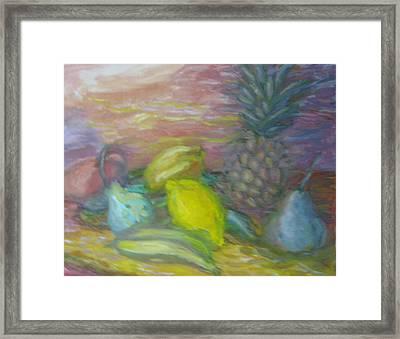 Lemon's Loves Framed Print