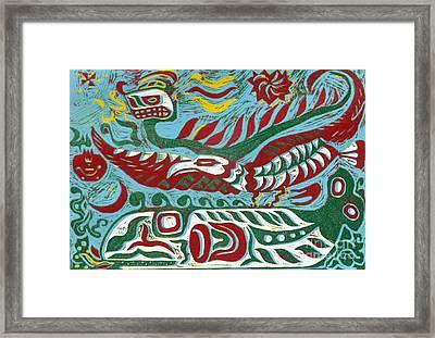 Lemuria Framed Print