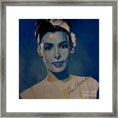 Lena Horne Framed Print