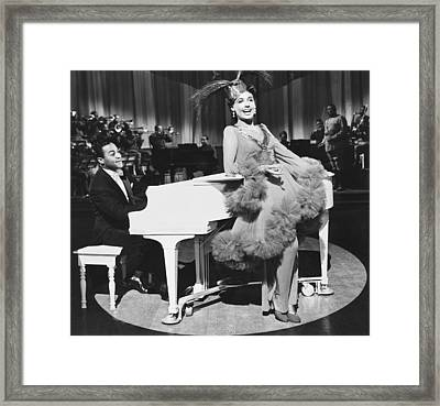 Lena Horne In Stormy Weather Framed Print
