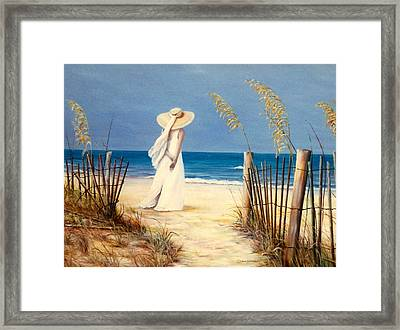 Lennis Framed Print by Melodye Whitaker