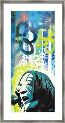 Lennon Framed Print by Erica Falke