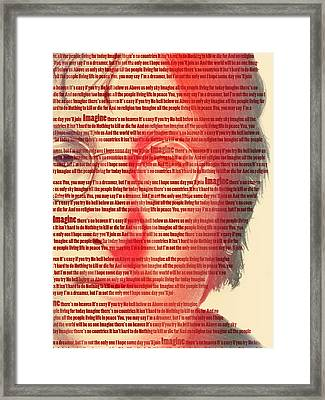 Lennon  Framed Print by Mark Ashkenazi