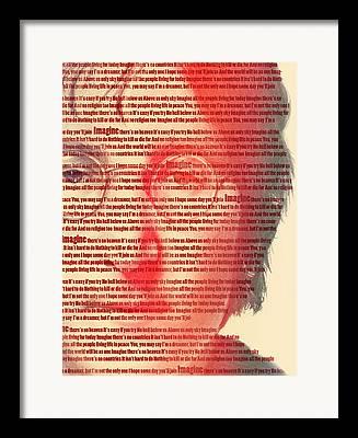 Famous Figures Framed Prints