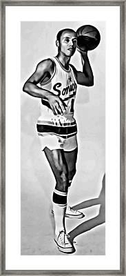 Lenny Wilkens Framed Print