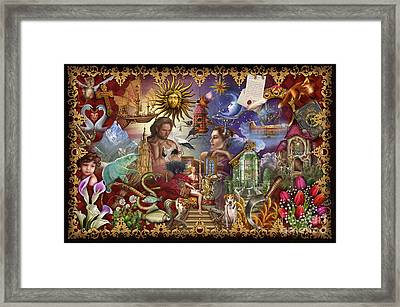 Lenormand Framed Print by  Ciro Marchetti