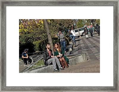 Lenox Ave Framed Print by Douglas Adams