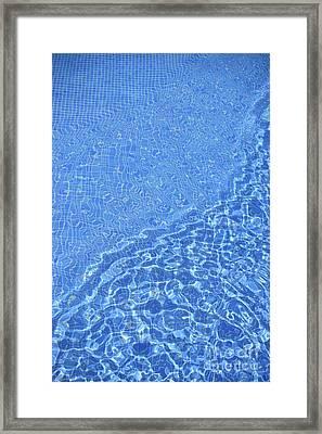 Lensing, Caustics & Chromatic Aberration Framed Print