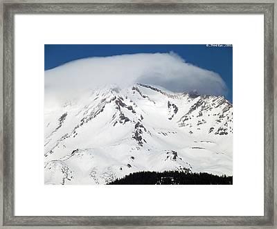Lenticular... Framed Print by Gary Rathjen