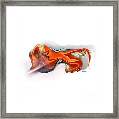 Leo Framed Print by Christian Simonian