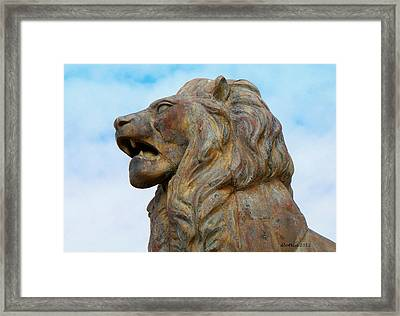 Framed Print featuring the photograph LEO by Dick Botkin