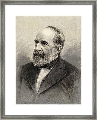 Leo Lesquereux Framed Print by Universal History Archive/uig