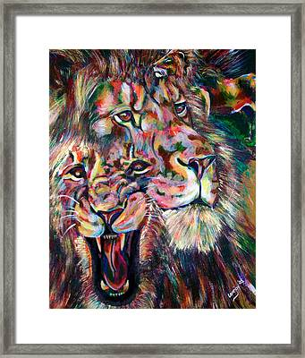 Leo Framed Print by Lovejoy Creations