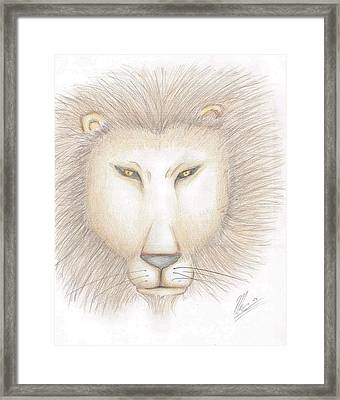 Leo Framed Print by Marc Chambers