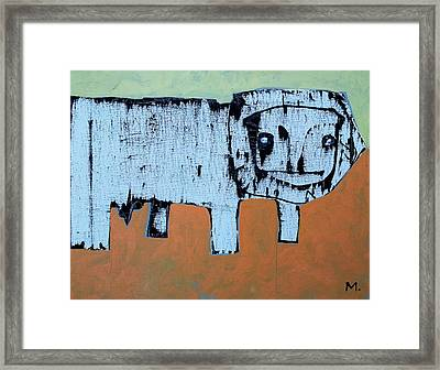 LEO Framed Print by Mark M  Mellon