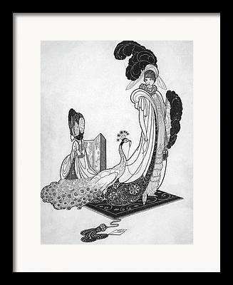 Exoticism Digital Art Framed Prints