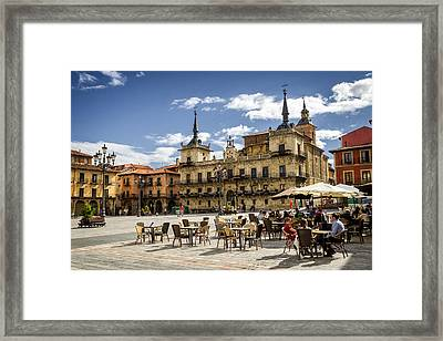 Leon City Hall Framed Print