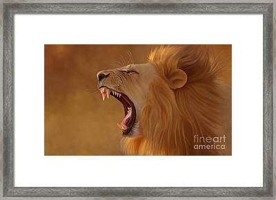 Leon Framed Print by Ivan  Pawluk