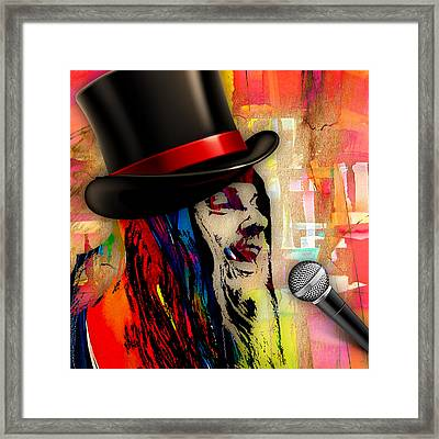 Leon Russell Collection Framed Print