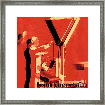 Leon Theremin Framed Print