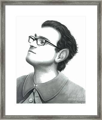 Leonard As Frodo Framed Print