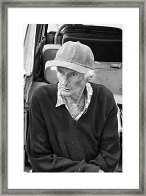 Leonard Knight Framed Print by Hugh Smith