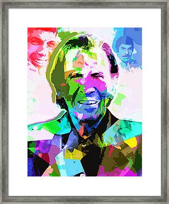 Leonard Nimoy Framed Print