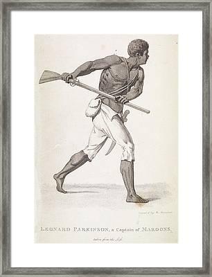 Leonard Parkinson Framed Print