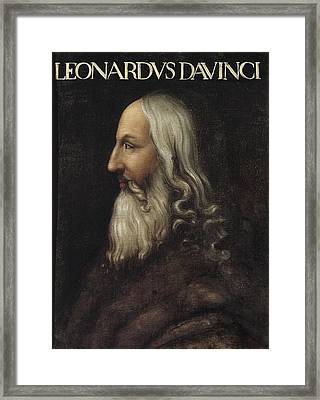 Leonardo Da Vinci 1452-1519. Painting Framed Print