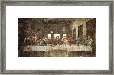 Leonardo Da Vinci 1452-1519. The Last Framed Print by Everett