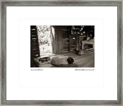 Leonesia Wilson Framed Print