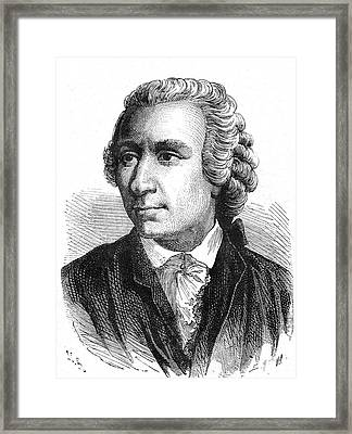 Leonhard Euler Framed Print by Collection Abecasis