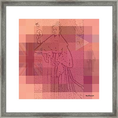 Leonor Rivera Framed Print by Rom Francis