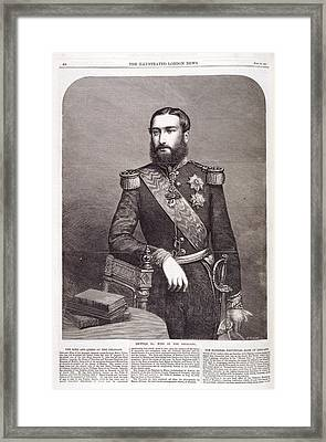 Leopold II Framed Print by British Library