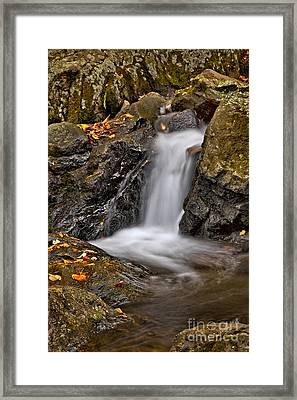 Lepetit Waterfall Framed Print by Susan Candelario