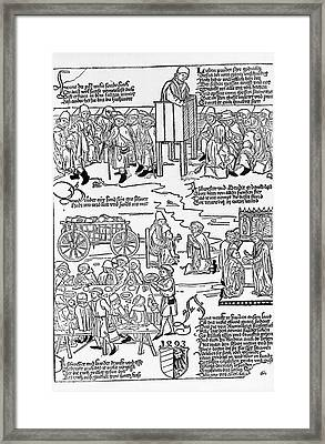 Leprosy Care Framed Print