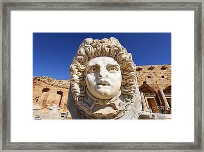 Leptis Magna Framed Print