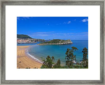 Lequeitio In Basque Country Spain Framed Print by Louise Heusinkveld