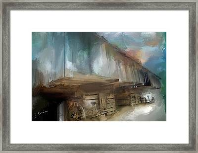 Lequire Cantilever Barn Framed Print