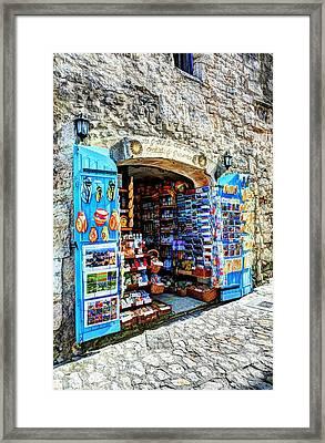 Les Baux De Provence 2 Framed Print by Mel Steinhauer