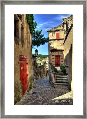Les Baux De Provence 6 Framed Print by Mel Steinhauer