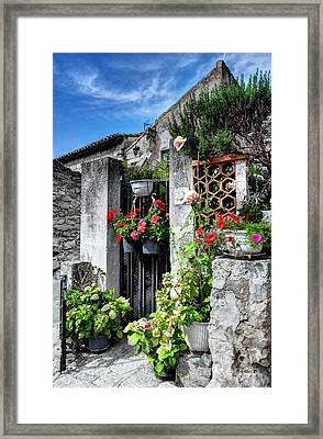Les Baux De Provence Framed Print