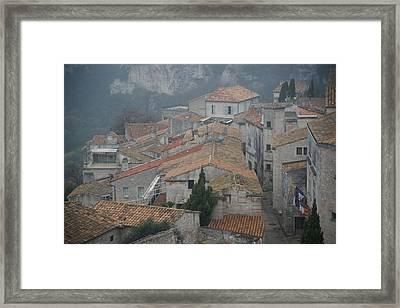 Les Baux Framed Print